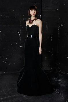 Paule ka 16 all black gown