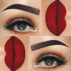 Online shopping for make-up products and accessories with free worldwide shipping Red Lipstick Makeup, Eyebrow Makeup, Skin Makeup, Eyeshadow Makeup, Makeup Cosmetics, Gloss Eyeshadow, Cream Eyeshadow, Benefit Cosmetics, Beautiful Eye Makeup