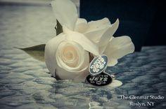 www.glenmarstudio.com #glenmarstudio #weddingphotographers #boutonniere #cufflinks #groom #groomdetails #groomaccessories #weddingday #love #couple #ido #marriage #longislandweddings #newyorkweddings