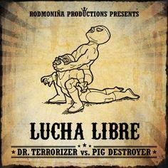 monoluchas de kcidis: Poster y video Lucha Libre