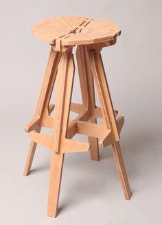 konstantin achkov. stack stool.