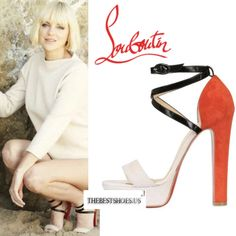 Anna Faris in Christian Louboutin Summerissima platform sandals [CELE002] - $239.00 : Discounted Christian Louboutin,Jimmy Choo,Valentino Shoes Online store