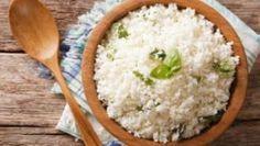Receita: arroz de couve-flor