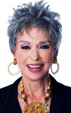 Short Spiky Hairstyles for older Women