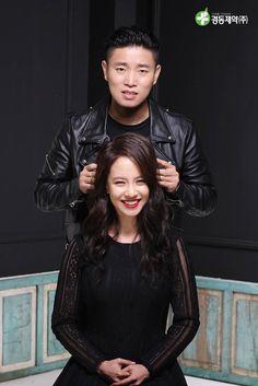 Song Ji Hyo and Kang Gary for Kyung Dong Pharmaceutical