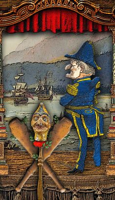 The Tarot of Mister Punch: What Did We See? We Saw the Sea.-If you love Tarot, visit me at www.WhiteRabbitTarot.com