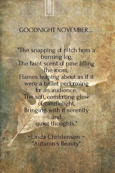 Seasons of Winterberry More - autumn quotes Autumn Day, Autumn Leaves, Autumn Theme, November Quotes, November Poem, Sweet November, October Country, December, Months In A Year