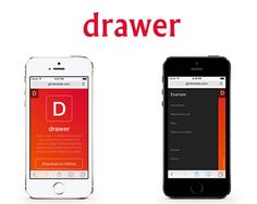 Drawer – jQuery Plugin for Drawer Menu with CSS Animations