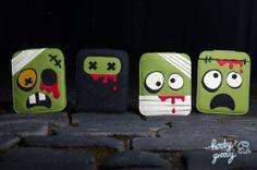 Mumblez the Zombie iPad Air / iPad Case by HoobyGroovy on Etsy