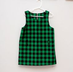 Vintage mod girl's dress