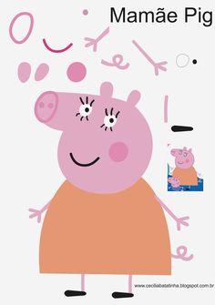 Cecília... Sou dela, sem ela não sou...: Moldes sem a marca d`água Peppa Pig e…