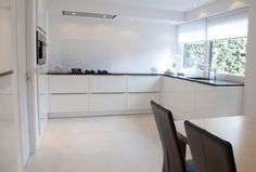 Geplaatste keuken modern wit 5
