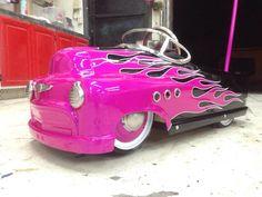 #pedalcar#flames#
