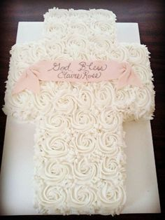 Baptism And Christening Cake Ideas