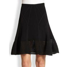 Rank & Style Top Ten Lists | Diane von Furstenberg Samara Fit & Flare Skirt  http://www.rankandstyle.com/top-10-list/best-midi-skirts/ #rankandstyle