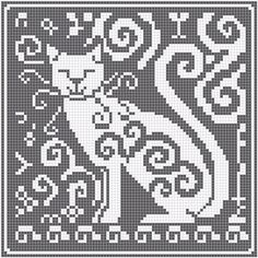 WitchWolfWeb Creations: filet crochet