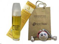Arganový olej kozmetický BIO 100ml + drevená hračka lienka Drinks, Beauty, Laughing, Drinking, Beverages, Drink, Beauty Illustration, Beverage