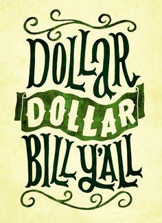 Song Lyric Drawings | Dollar Bill | Wu Tang Clan