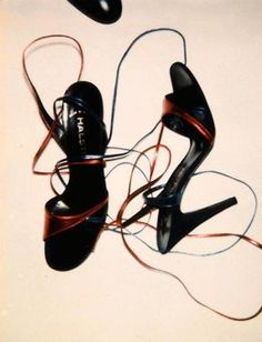 Halston Shoes Polaroid by Andy Warhol