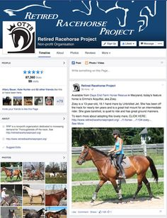 Great morning coffee read! Find out how social media benefits Thoroughbred aftercare charities with Melissa Bauer-Herzog's latest piece.