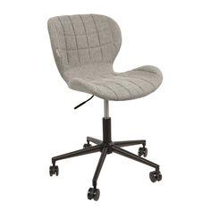 Bureaustoelen saai en degelijk? De Zuiver OMG Bureaustoel bewijst het tegendeel! Deze stoel zit comfortabel, is flexibel en heeft wieltjes aan de onderkant. Zo zit je lekker flexibel achter je bureau. Eigenlijk wil je er bijna niet vanaf komen! OMG!