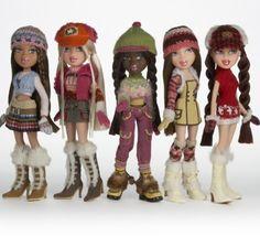 2005 Bratz Dolls -2005 Bratz Dolls Photo Gallery: Campfire Bratz  Dolls: Ready for Winter Fun