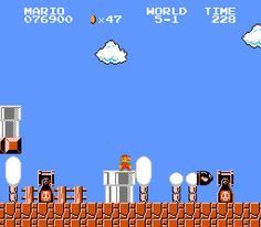 Super Mario Bros (1985) - the game that started a life long obsession w/ video games, I still play the every now and then XD