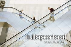 rullaportaat ~ escalator