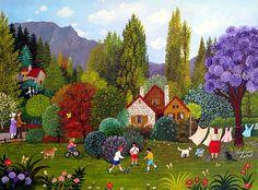 Backyard Memories by Veronica Labat  of Argentina
