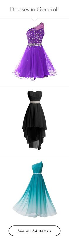 """Dresses in General!"" by qwertyuiop-sparta ❤ liked on Polyvore featuring dresses, short dresses, short prom dresses, mini dress, short homecoming dresses, purple dress, homecoming dresses, robe, vestidos and prom"