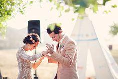 Bohemian Farmhouse Wedding: Sarita + Jesse