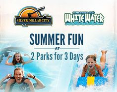 Silver Dollar City Theme park - ONLY open Sunday, Thursday, Friday, Saturday, get in after 3 pm next day free