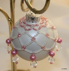 That's My Story....: Netted Ornaments: