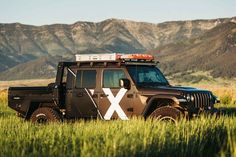 Expedition Overland builds some of the toughest trucks and SUVs in the business — and they're not just for show. Expedition Overland built Odin, a... General Tire, Tent Stakes, Roof Top Tent, Jeep Rubicon, Ford Expedition, Jeep Gladiator, Trail Riding, Ford Mustang Gt, Truck Bed