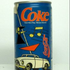 Coke old can