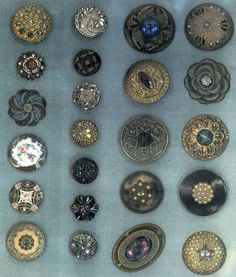 "The hundred year old button collection of Louis Leopold Unmack ""PoPeye""....Amazing Collection and history of buttons."