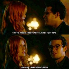 """Shadowhunters on Instagram: """"Their friendship is GOALSs #Climon"""""""