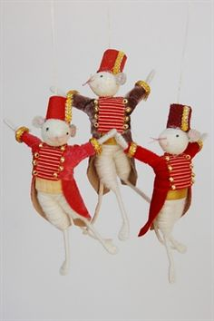 Halinka's Fairies -reminds me of the mice in Coraline