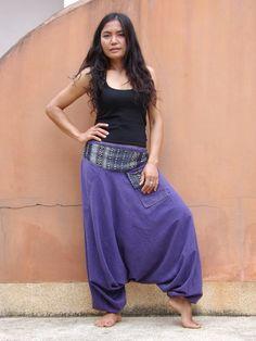 Harem Pants ...Yoga Pants ..Leasuire Pants ...Stone by Ablaa