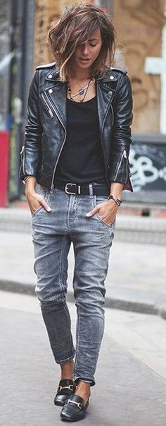 #trending #fall #outfitideas | Black + Grey