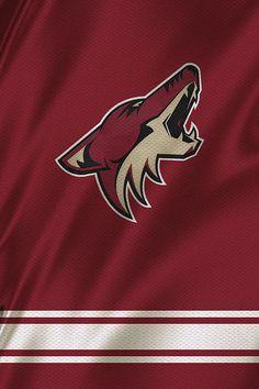 9f877495b Phoenix Coyotes Print By Joe Hamilton Nhl Hockey Jerseys