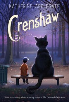 """<2015 Pin> Crenshaw by Katherine Applegate. SUMMARY: """"A story about a homeless boy and his imaginary friend that proves in unexpected ways that friends matter, whether real or imaginary""""-- Provided by publisher."""