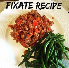 Omg this was yummy! Another Fixate recipe for din din. I'm learning if you use the right spices your dish will turn out with so much flavor! Healthy food CAN be delicious 😋😋😋 21 Day Fix Recipies, Turkey Sloppy Joes, Fixate Recipes, 80 Day Obsession, Healthy Food, Healthy Recipes, Homemaking, Green Beans, Clean Eating