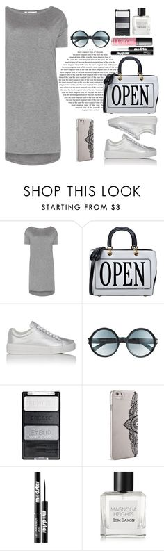 """""""Untitled #431"""" by jovana-p-com ❤ liked on Polyvore featuring T By Alexander Wang, Moschino, Prada Sport, Tom Ford, Nanette Lepore, Ardency Inn, Tom Daxon and shirtdress"""