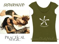 The Sisterhood Collection by Cheeky Witch® T-Shirts and Tank Tops in assorted colors with sizes up to 5XL - To see more CLICK ON THE PIC! #witch #witchcraft #sisterhood #wicca #coven #practicalmagic #charmed #halloween #cheekywitch