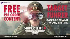 Sniper Elite 4  First Gameplay Trailer & Target Führer Teaser Full HD,1920x1080p