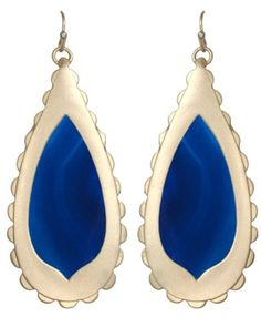 Rosie Earrings in Blue by Kendra Scott