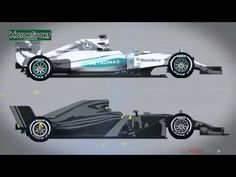 The 2017 Formula 1 car - YouTube