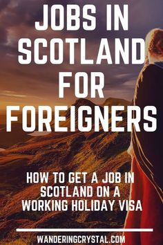Jobs in Scotland for Foreigners #expat #workingholiday #scotland #schottland #escócia Moving to Scotland on your temporary visa or permanently? See my expat tips on how to get a job in Scotland! #expat #livingabroad #Scotland #Escocia Moving to Scotland on a working holiday visa? There are a lot of jobs in Scotland for foreigners and expats. Temporary jobs, jobs with accommodation & more. #Edinburgh #Glasgow #ScottishHighlands #jobs #job moving to Scotland, living in Scotland, Americans Moving To Scotland, Scotland Travel, Ireland Travel, Scotland Vacation, Scotland Trip, Working Holiday Visa, Working Holidays, National Insurance Number, Ireland Places To Visit