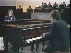 Victor Borge accompanied by Sahan Arzruni, fooling around with Tchaikovsky's piano concerto. Music Ed, Music Stuff, Classical Music Humor, Smothers Brothers, Victor Borge, Tv Theme Songs, Tv Themes, Joyful Noise, Bill Cosby